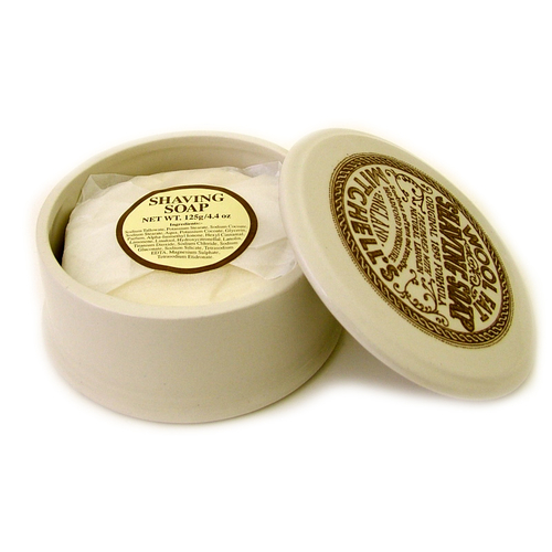 OPEN BOX - Mitchell's Wool Fat Ceramic Bowl and Soap