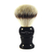 Edwin Jagger Synthetic Shaving Brush with Drip Stand (Ebony)