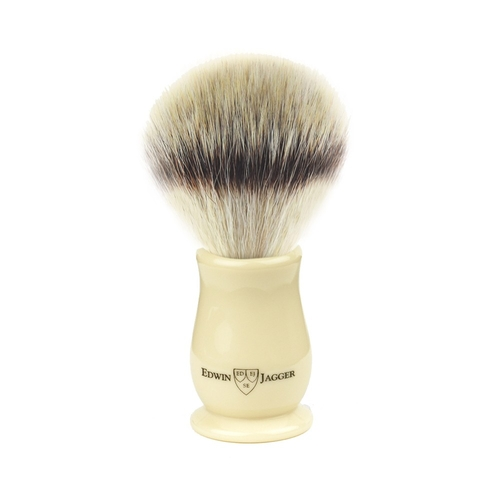 Edwin Jagger Chatsworth Synthetic Silver Tip Brush (Ivory)