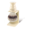 Edwin Jagger Synthetic Shaving Brush with Drip Stand (Ivory)