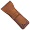 Parker Leather Safety Razor Travel Case (Saddle Brown)