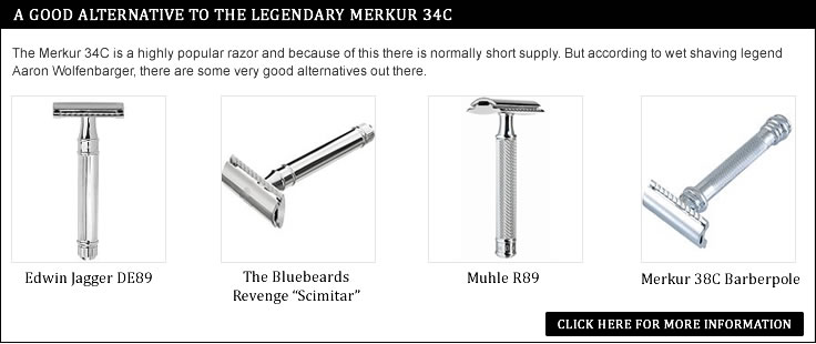 Merkur 34C Alternative